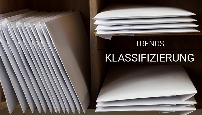 Trends Klassifizierung